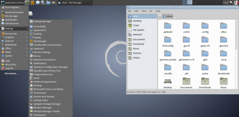 How to Install Xfce on Debian 7 wheezy