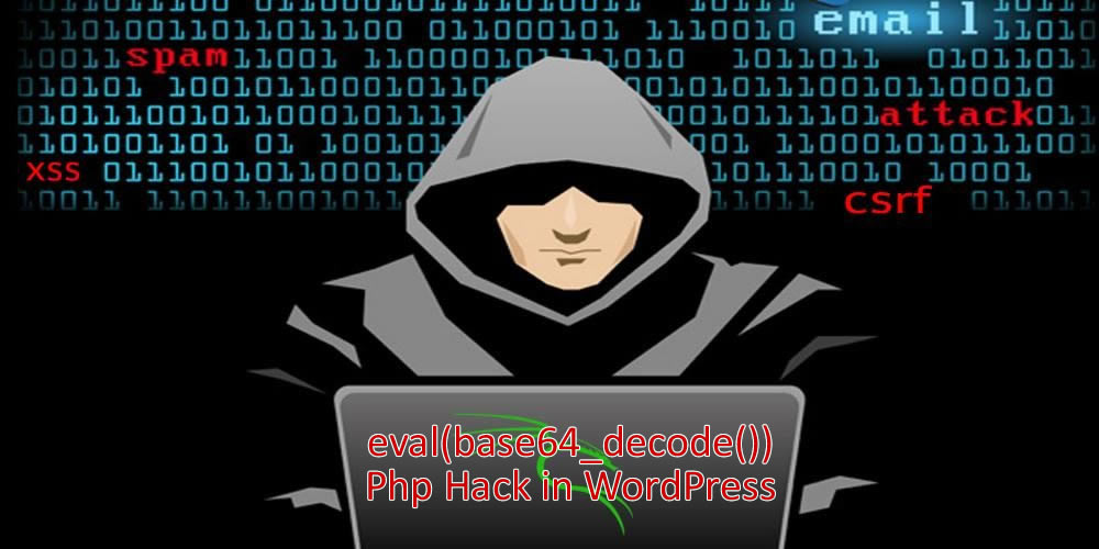 wordpress eval base64 hack